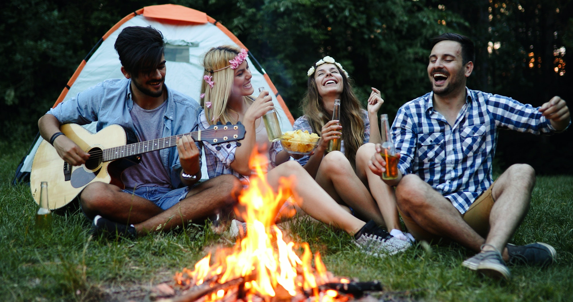 8 Great Tips For Drinking While Camping